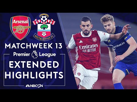 Arsenal v. Southampton | PREMIER LEAGUE HIGHLIGHTS | 12/16/2020 | NBC Sports
