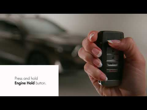 How to use the accessory Remote Engine Start