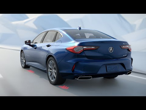2021 Acura TLX with available Super Handling All-Wheel Drive (SH-AWD)