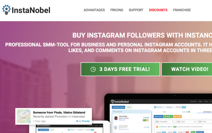 Instanobel Review - The Small Business Blog