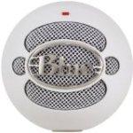 White Blue Snowball Microphone