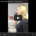 Everyone's Favorite Entertaining Flight Attendant Does an Awesome Job