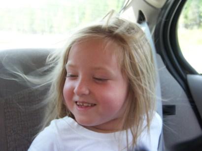 Anna's wild hair