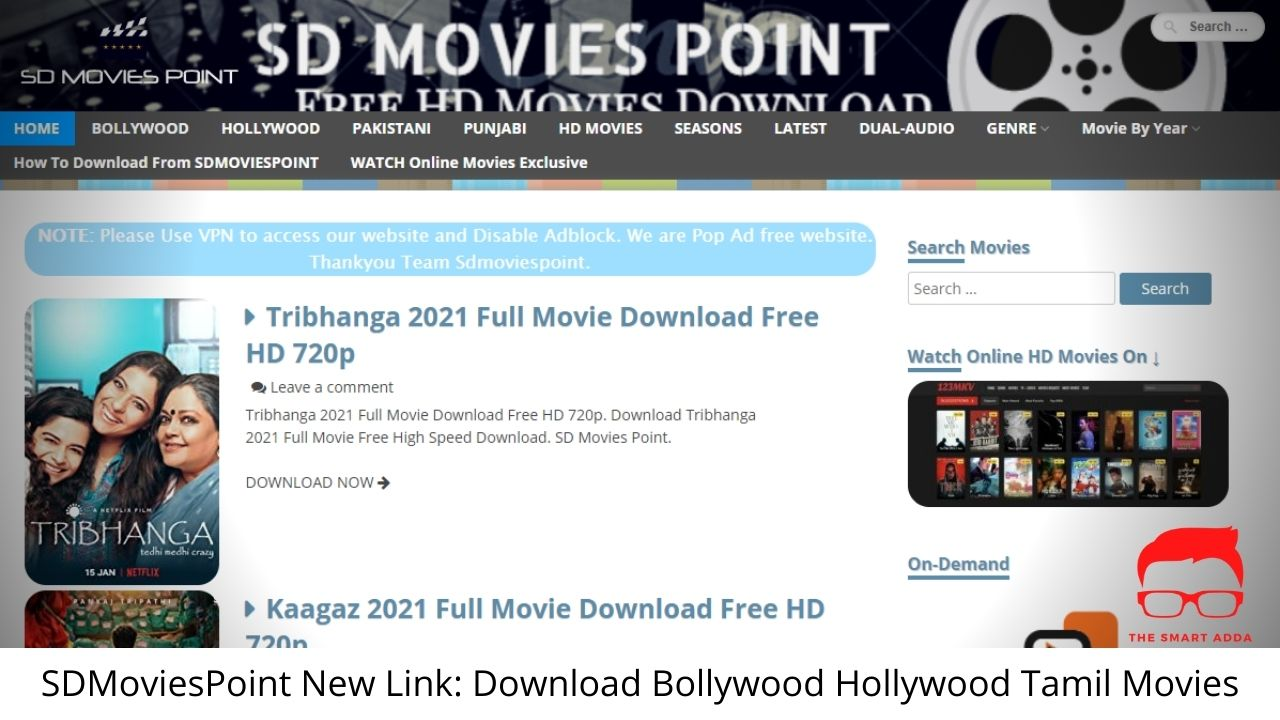 SD Movies Point Download Bollywood Hollywood Tamil Movies