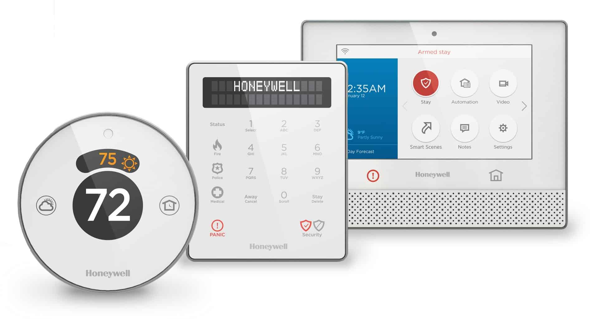 Honeywell lyric round review its cheaper for a reason for Smart home alarm system