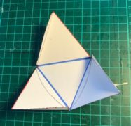 how to make a tetrahedron