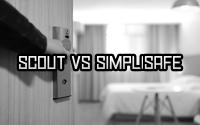 Scout alarm, SimpliSafe, Comparison