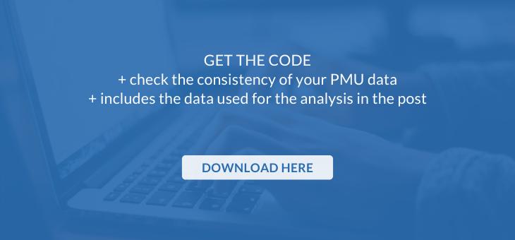 PMU data consistency check - download the Python code