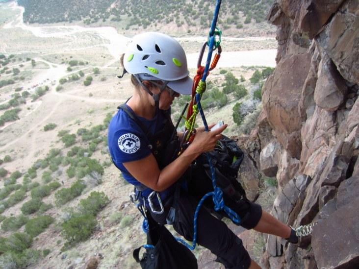 traditional rock climbing