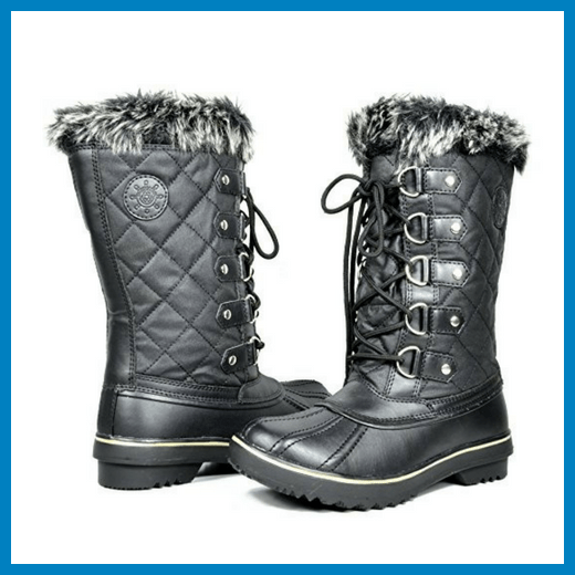 Kingshow Women's Globalwin Waterproof Winter Boot