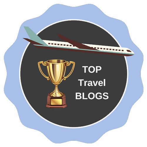 travel blogs badge