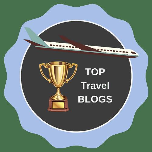 travel blogs badge