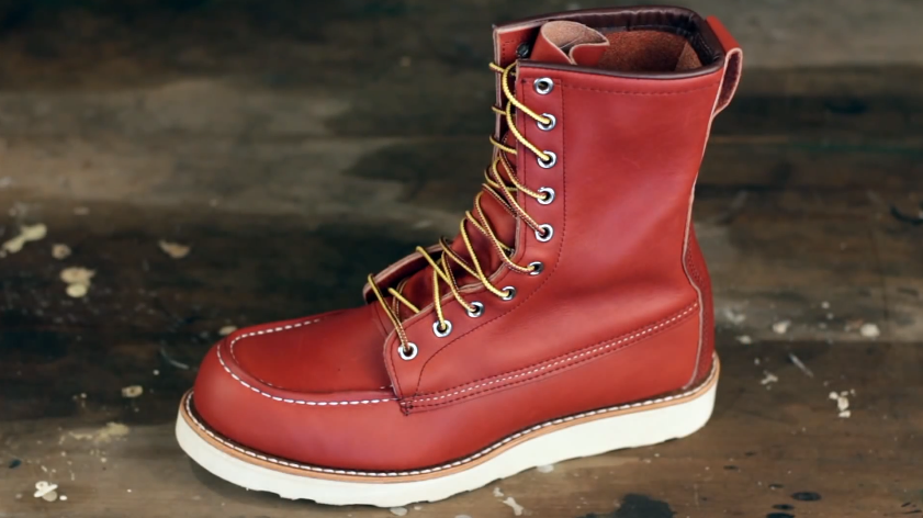 The Red Wing Heritage Moc  E  B Boot Is Work Boot If You Want Good And Reliable Work Boot Then Moc  E  B Will Be The Best Those Shoes Are The Most Noteworthy