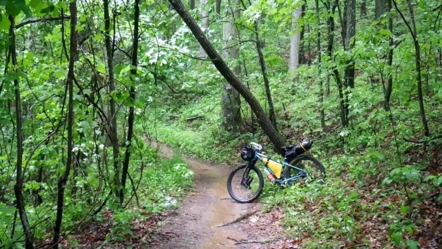excellent working condition bikepacking