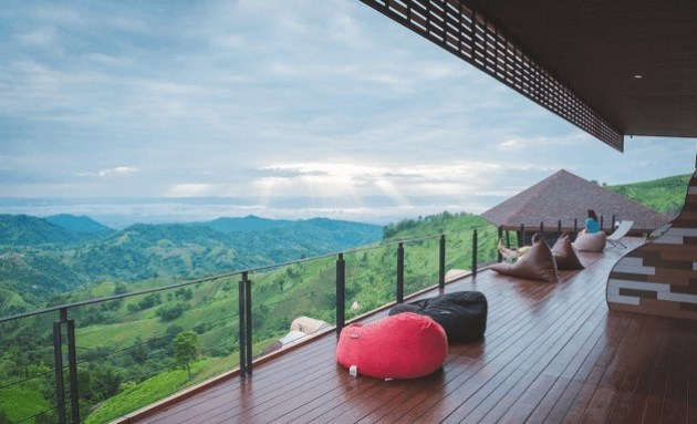 Cold places in Southeast Asia Phu Sandao Resort Cheap hotel in thailand with lofts