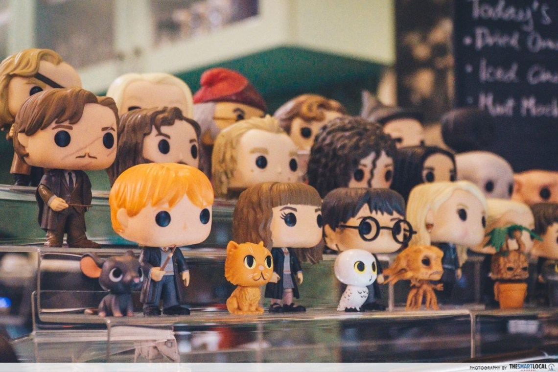 into the woods cafe - harry potter collection