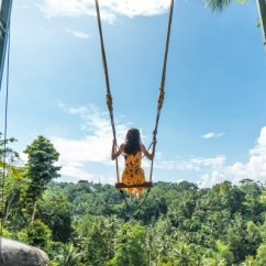 Swing Chair Penang French White Dining Chairs Bali Mega Playground In Ubud With Giant Swings That Go Up To 78m Above Ground
