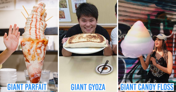 7 Giant Food Dishes In Japan For Forever-Hungry Diners To Eat Their Money's Worth Including Challenges