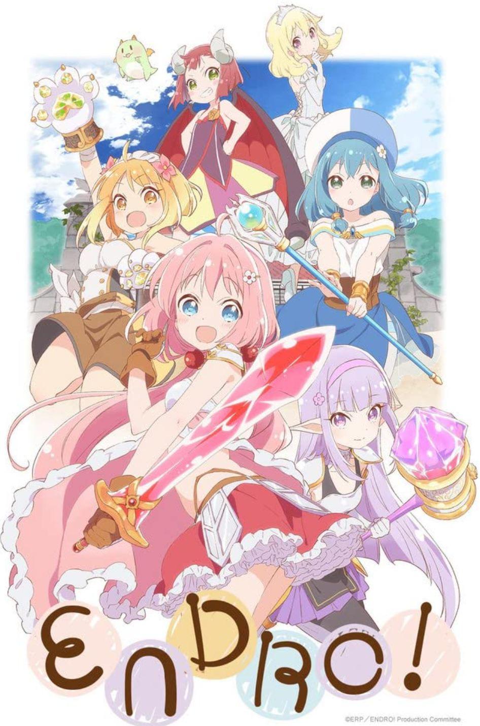 Anime Fantasy Adventure : anime, fantasy, adventure, Fantasy, Anime, Immerse, World, Swords, Sorcery