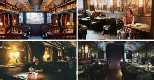 There's A Train-Themed Restaurant In BKK With Serious Orient Express Vibes