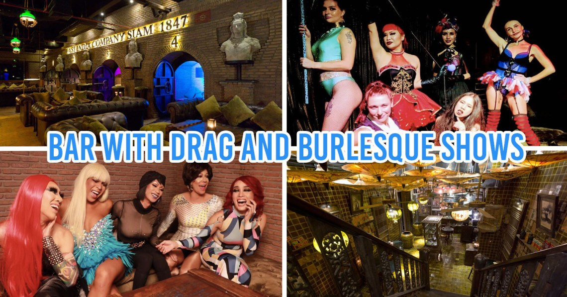 Drag queen Bear Bangkok Gay Bars Fun Thailand Night Life