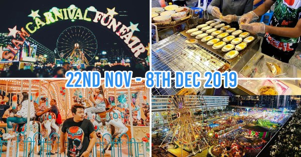 Bangkok's Siam Carnival Funfair Is Back With Over 70 Street Food Stalls And 20 Amusement Park Rides