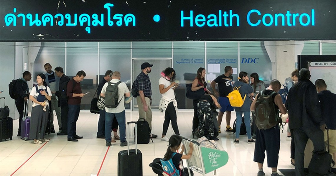 Thai Airports Ramp Up Intensive Screening For COVID-19 For Travellers from Japan and Singapore