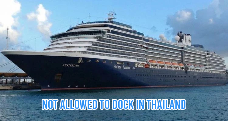 Cruise Ship Refused Entry In Thailand Due To Coronavirus
