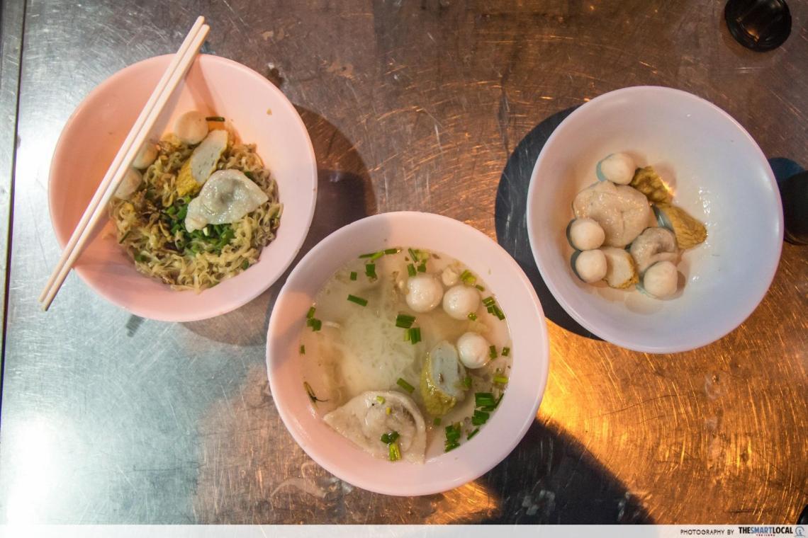 fishball noodles bangkok chinatown