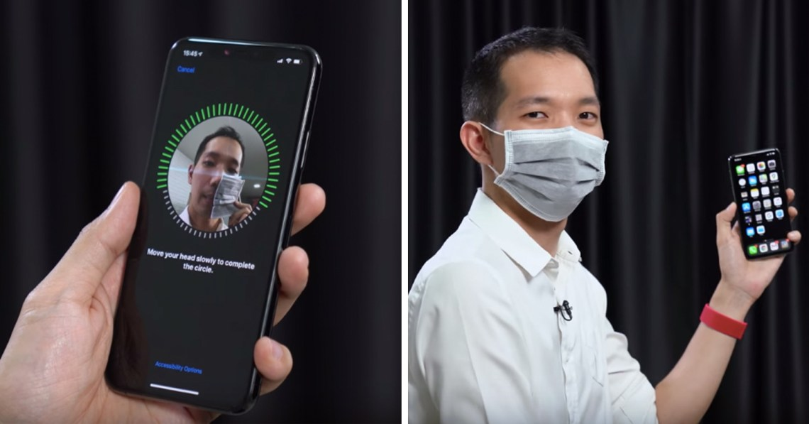 Unlock Your Phone With Face ID While Wearing A Mask