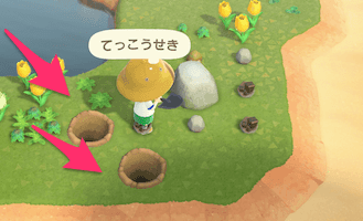 animal crossings new horizons rocks