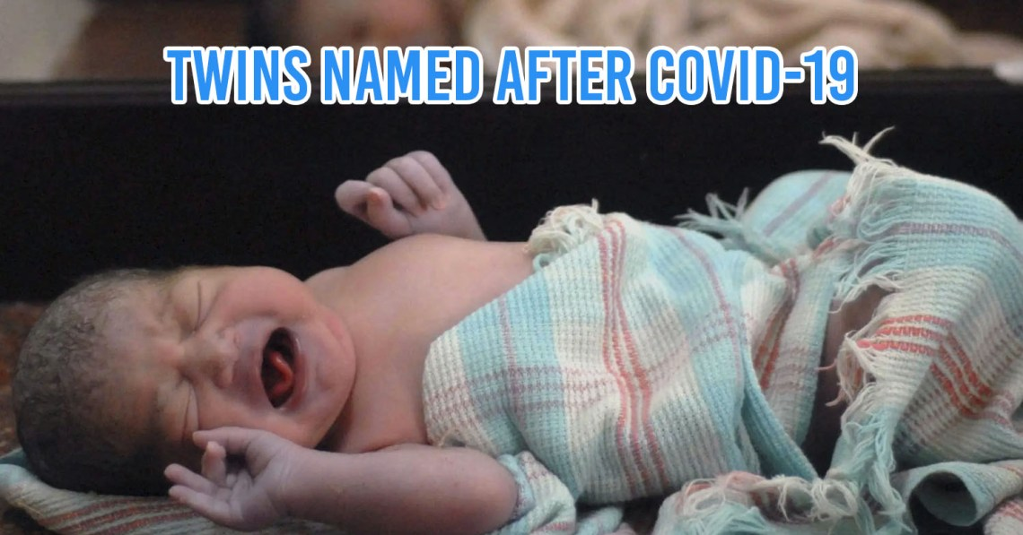 Indian parents name twins after COVID-19 virus
