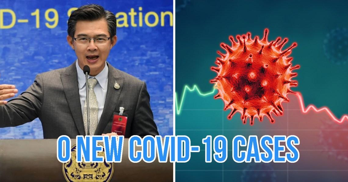Thailand Has Zero COVID-19 Cases