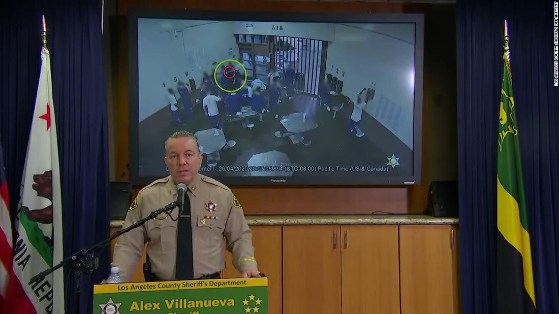 InmInf sheriff briefing
