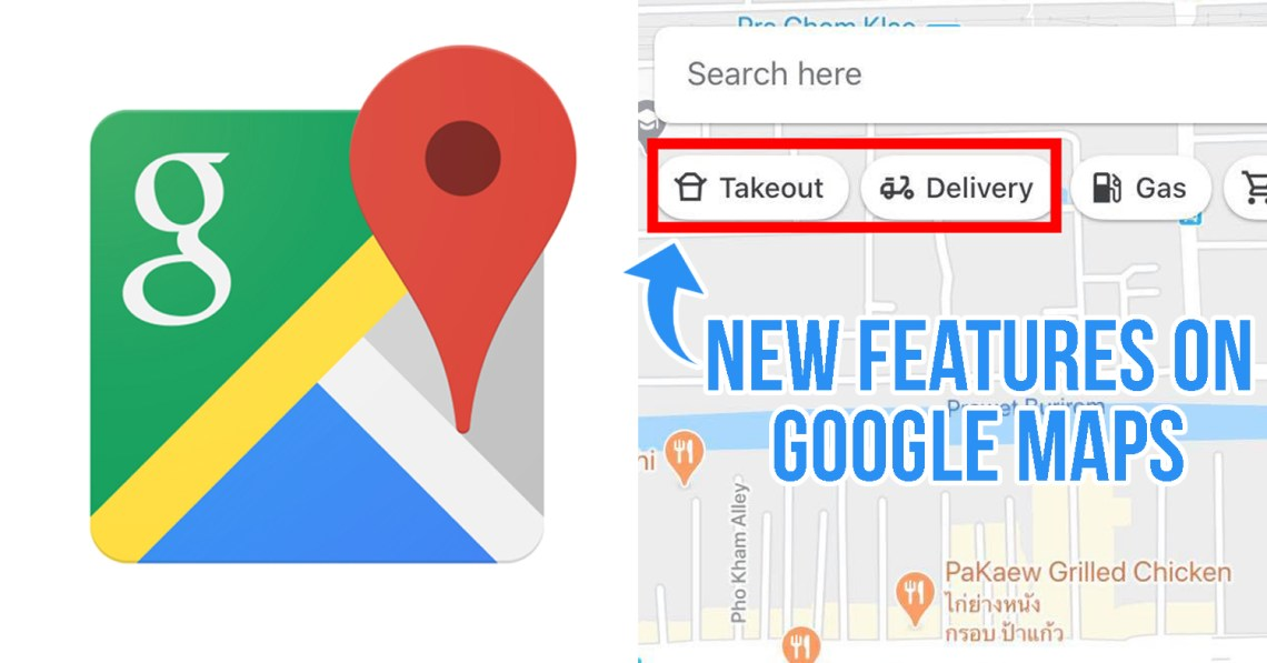 new features on Google Maps