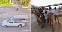 Thai Schoolboys Rescue Friend From Attempting Suicide After He Gets Cheated By Bus Driver