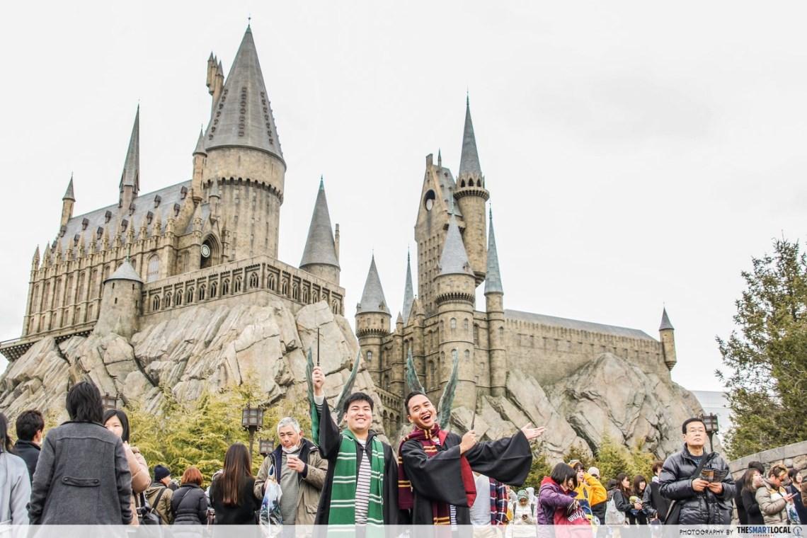 harry potter wizarding world japan osaka universal studios