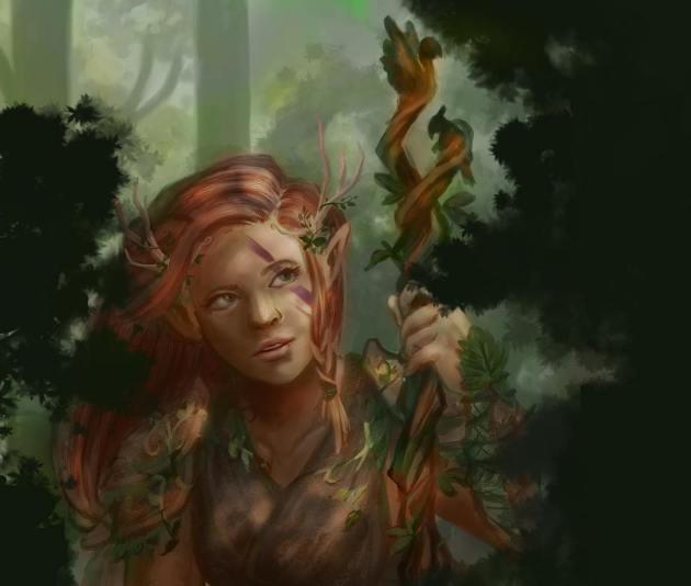 elf druid d&d