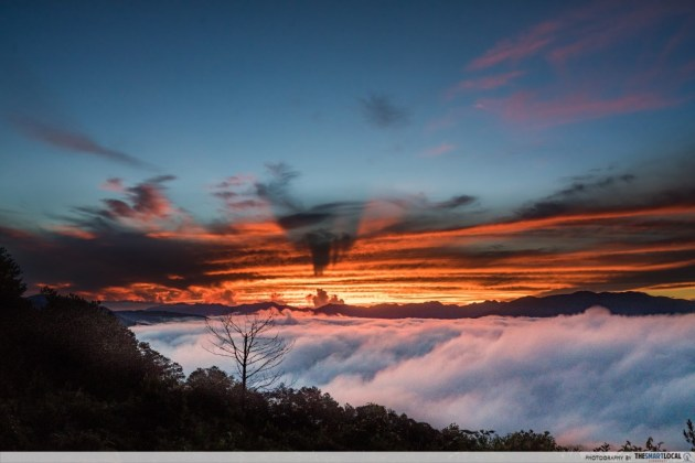 Sea of Clouds Sagada Marlboro Hill