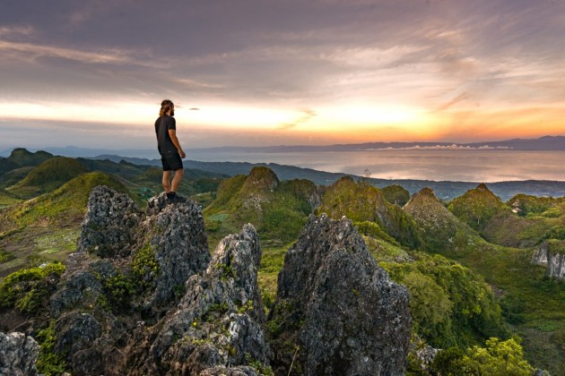 phillippines islands osmena peak