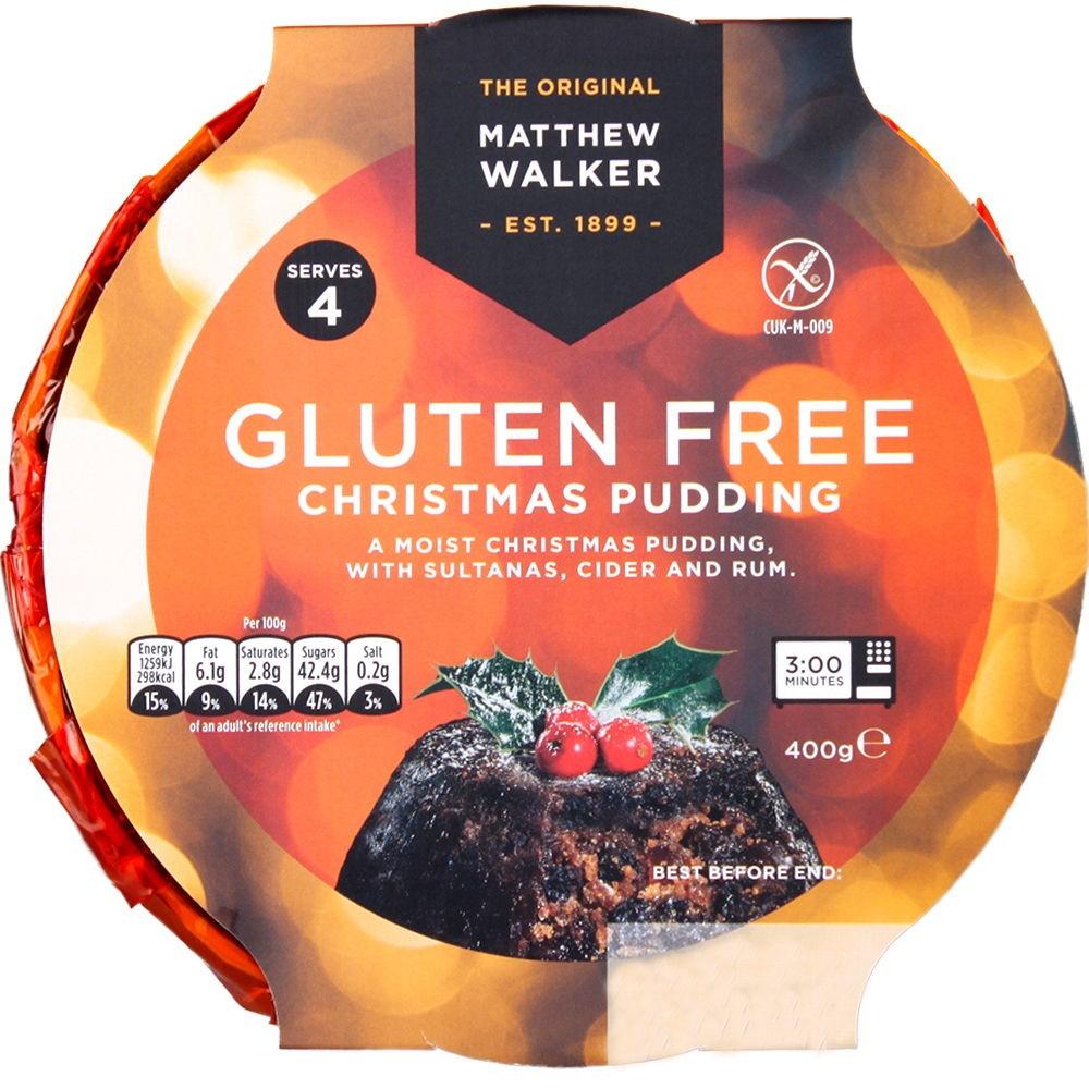 Matthew Walker gluten free Christmas pudding honestbee
