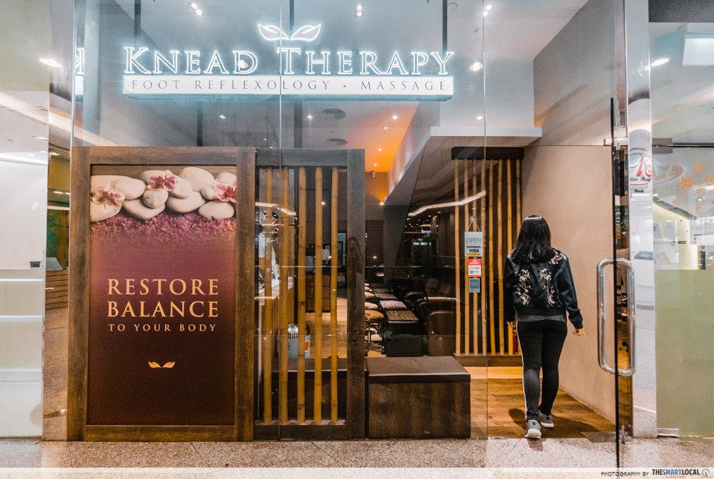 knead therapy storefront