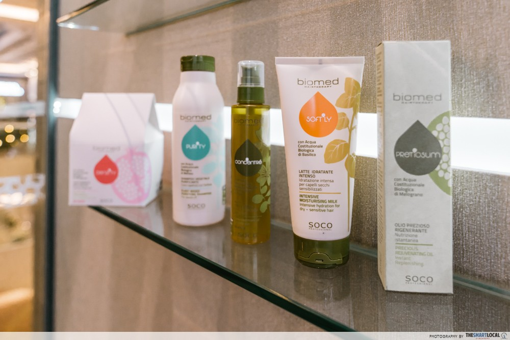 biomed hair therapy products