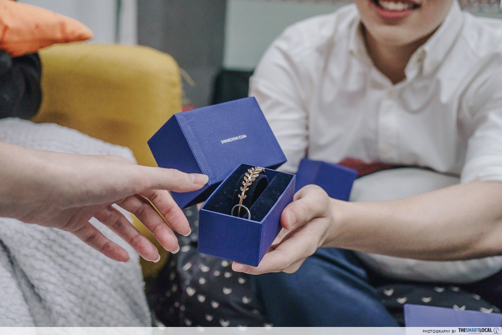 Swarovski - Christmas gift exchange