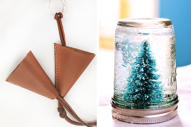leather pouches and mason jar