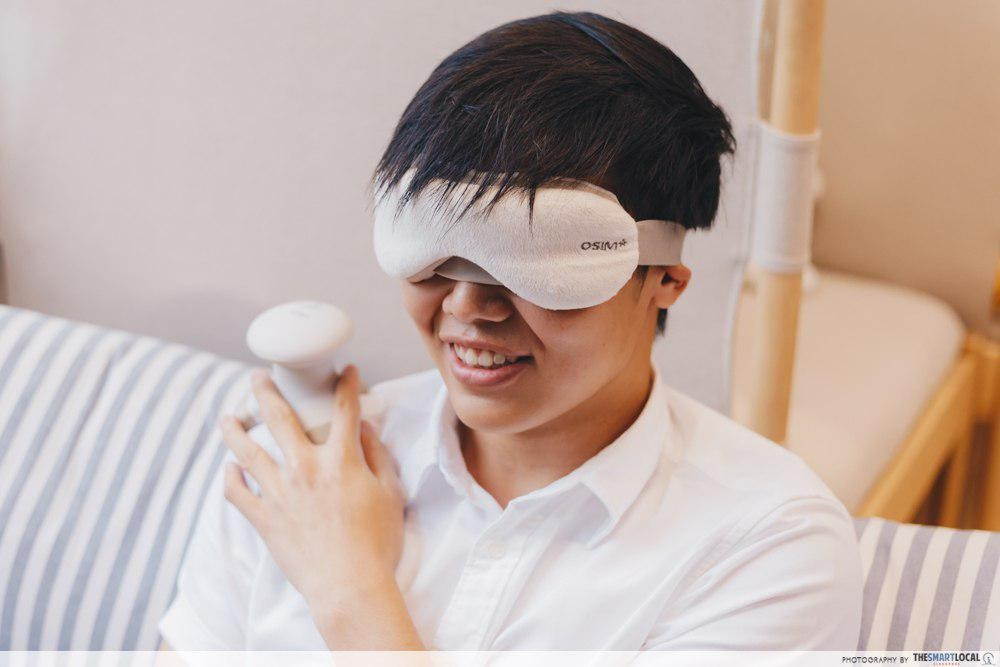 osim ugem eye massager
