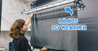 Steigen - automated laundry rack