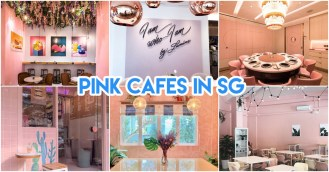 pink cafes in singapore header photo