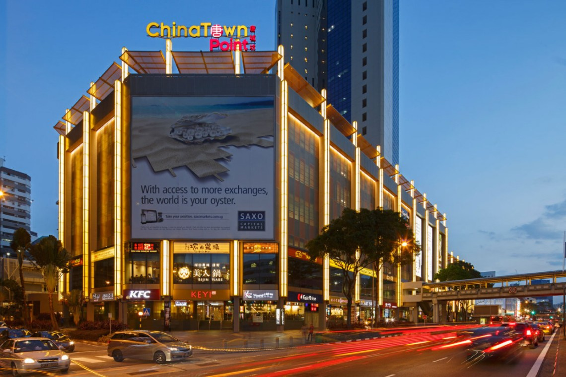 facade of chinatown point shopping centre
