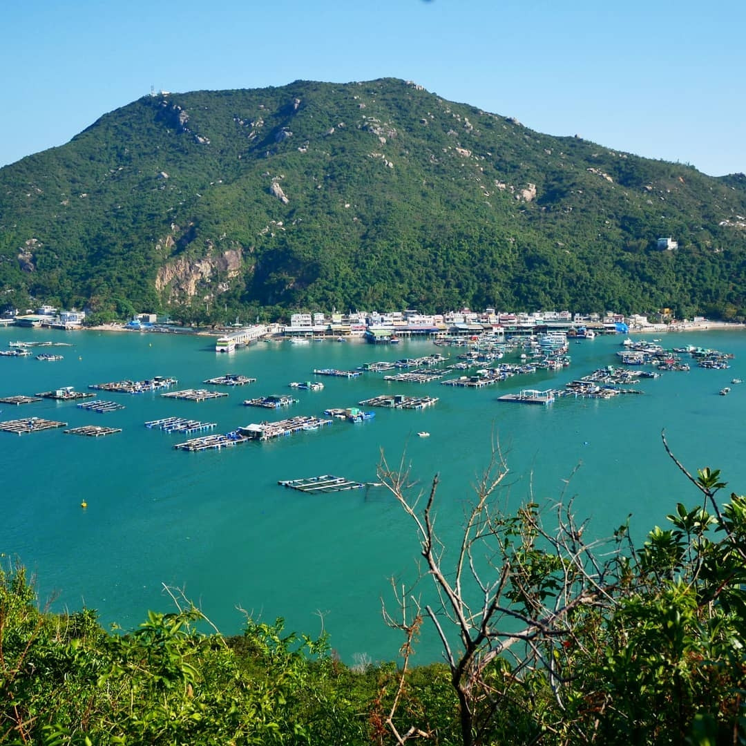 Hong Kong cycling trails - Lamma Island